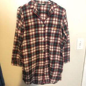RL Plaid Sleep Shirt